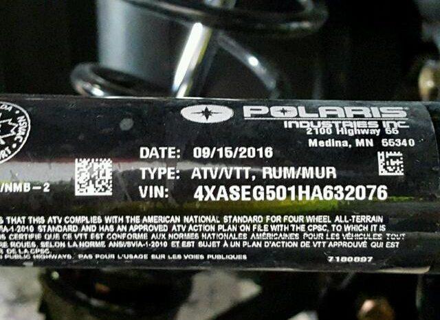 POLARIS SPORTSMAN 450 UTILITY EDITION 2017 full